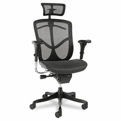 Alera® EQ Series Ergonomic Multifunction High-Back Mesh Conference Chair