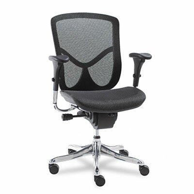 Alera® EQ Series Ergonomic Multifunction Mid-Back Mesh Conference Chair