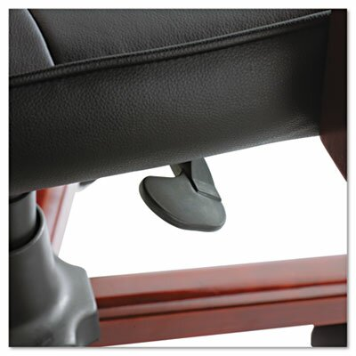 Alera® Madaris Mid-Back Leather Executive Chair