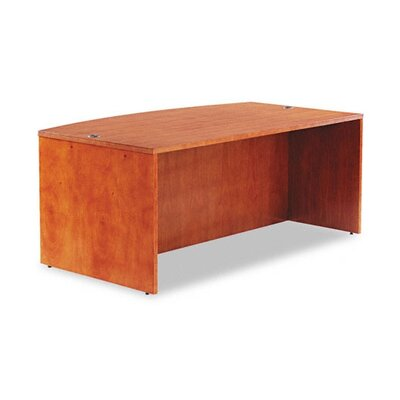 Alera® Verona Series Bow Front Executive Desk Shell