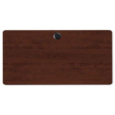 Alera® Valencia Series Rectangular Table Top in Mahogany