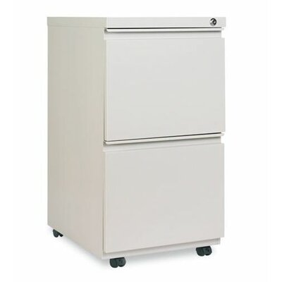 Alera® 2 Drawer Mobile Pedestal File Cabinet