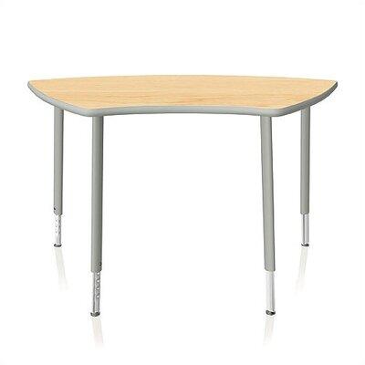 "KI Furniture Intellect Series 50"" x 24"" Trapezoidal Classroom Table"