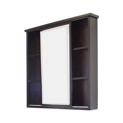 "35"" x 35"" Surface Mount Beveled Medicine Cabinet Product Photo"