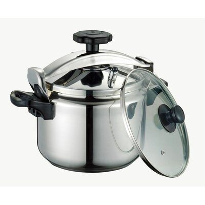 8.45-Quart High Quality Stainless Steel Pressure Cooker by Peterhof USA