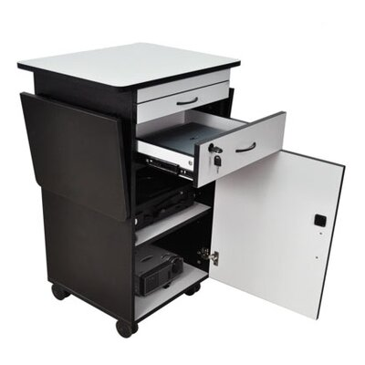 AmpliVox Sound Systems Multimedia Work Laptop Cart
