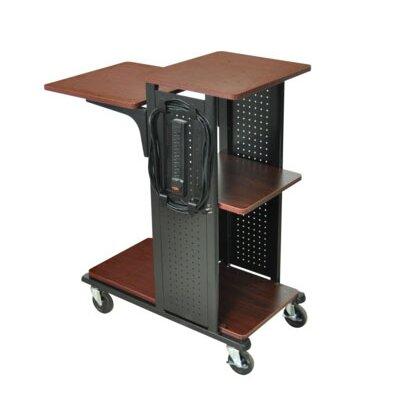 AmpliVox Sound Systems Mobile Presentation Laptop Cart