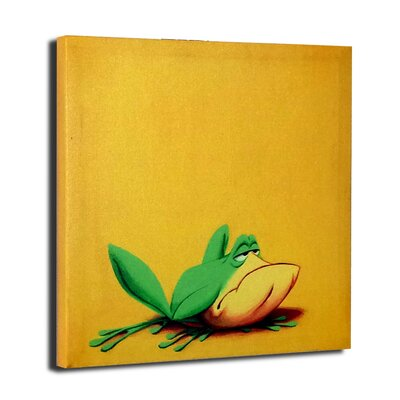 Chuck Jones 'Michigan J. Frog' Graphic Art on Wrapped Canvas by Lord Mischief
