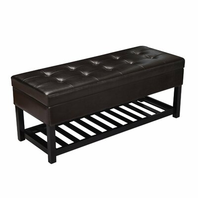 Rectangular Tufted Storage Ottoman by AdecoTrading