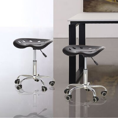 Height Adjustable Stool by AdecoTrading
