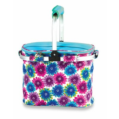 Shelby Collapsible Thermal Foil Insulated Market Tote Pinic Cooler by Picnic Plus by Spectrum
