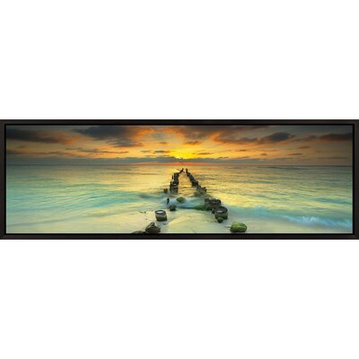 Endlessly Out to Sea #4 Framed Photography Print by Elementem Photography