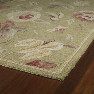 Kaleen Khazana Savannah Olive Floral Rug Reviews Wayfair
