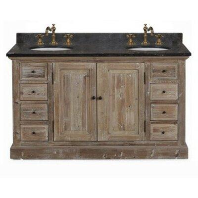 "61"" Double Bathroom Vanity Set Product Photo"