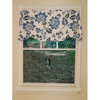 """Jacobean Abstract Lined Beacon 53"""" Valance Product Photo"""