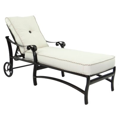 Bellanova Chaise Lounge with Cushion by Pride Family Brands