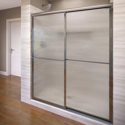 "Deluxe 71.5"" x 59"" Framed Bypass Sliding Shower Door Product Photo"
