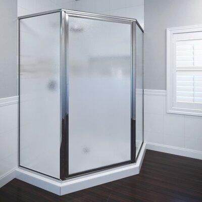 "Deluxe 68.63"" x 49.5"" Neo-Angle Shower Door Product Photo"