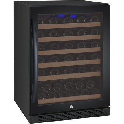 FlexCount Series 56 Bottle Single Zone Freestanding Wine Refrigerator by Allavino