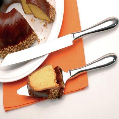Zeno 2 Piece Cake Serving Set by BergHOFF