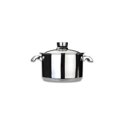 Invico Vitrum 7-qt. Stock Pot with Lid by BergHOFF