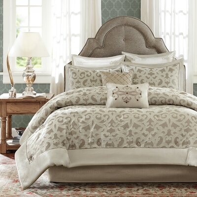 Kingsley 8 Piece Comforter Set by Madison Park Signature