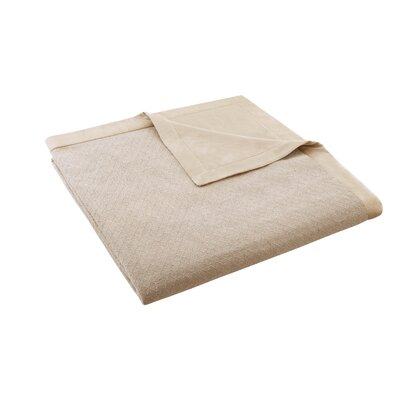2-in-1 Cotton Sheet Blanket by Madison Park Signature