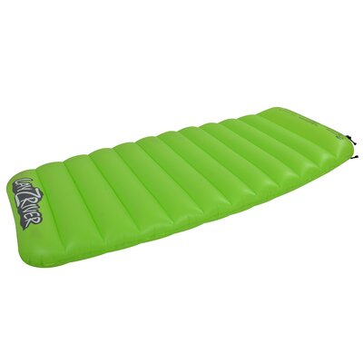 Lay-Z-River 1 Person Lake Air Mattress Pool Float by Blue Wave Sports