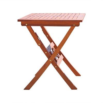 Vifah Glaser Folding Bistro Table