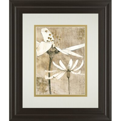 Pencil Floral II by Avery Tillman Framed Painting Print by ClassyArtWholesalers