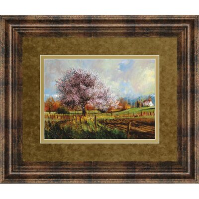 Spring Blossoms by Larry Winborg Framed Painting Print by ClassyArtWholesalers