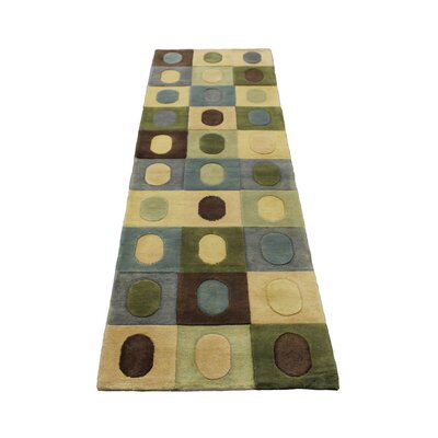 Hand Tufted Wool Area Rug by ZallZo