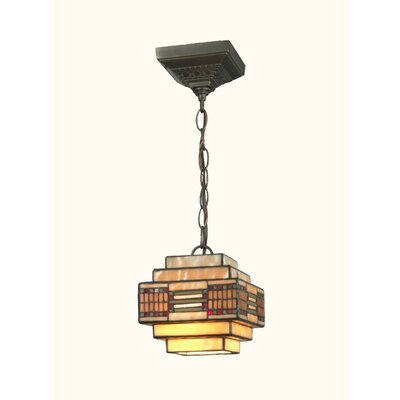 Cube Mission 1 Light Pendant by Dale Tiffany