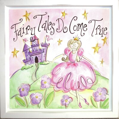 Fairy Tales Do Come True Deco Framed Art by Renditions by Reesa