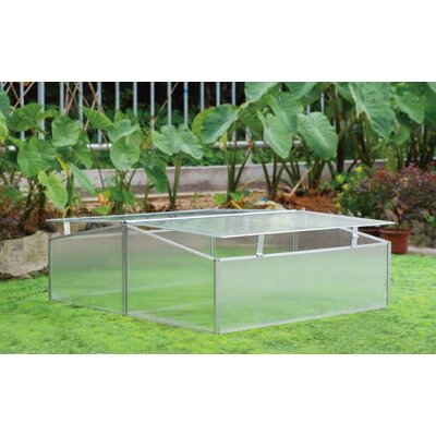 3.5 Ft. W x 3.5 Ft. D Cold Frame Greenhouse by Zenport