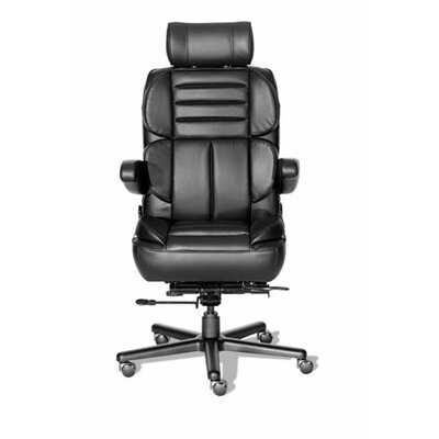 Comfort Series Galaxy Leathermate Vinyl High-Back Executive Chair by ERA Products Office Chairs