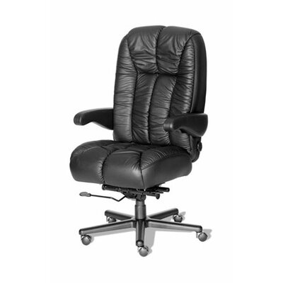 Comfort Series Newport Leather High-Back Executive Chair by ERA Products Office Chairs