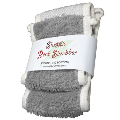 Shaggie Spa Shrubber Bath Towel by Janey Lynn's Designs Inc