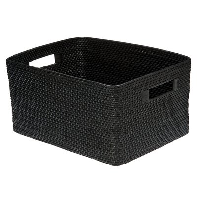 Kouboo square rattan storage basket reviews wayfair for Asian furniture farmingdale ny