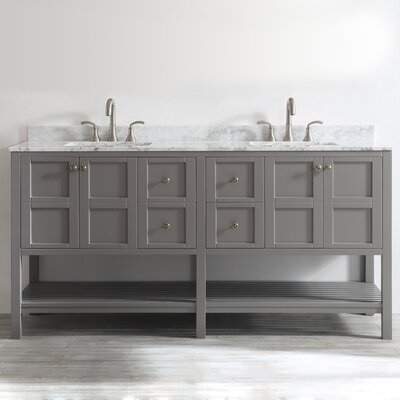 "Florence 72"" Double Vanity Set Product Photo"