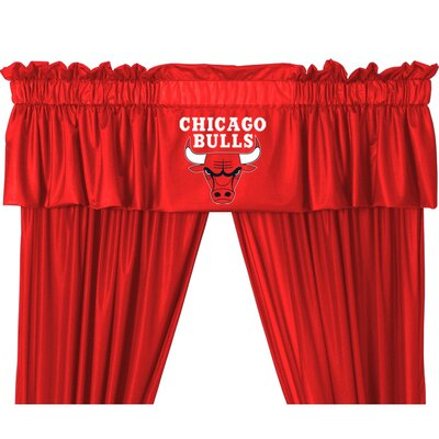 "Sports Coverage Inc. NBA 88"" Chicago Bulls Curtain Valance"