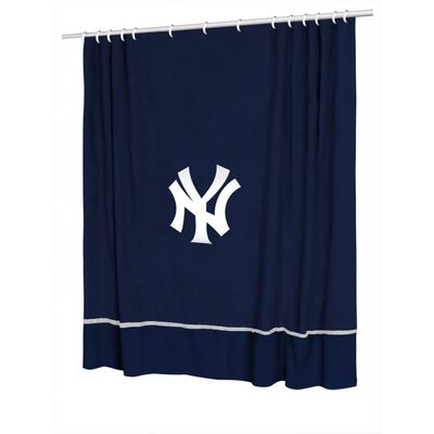 Sports Coverage Inc. MLB New York Yankees Sidelines Shower Curtain