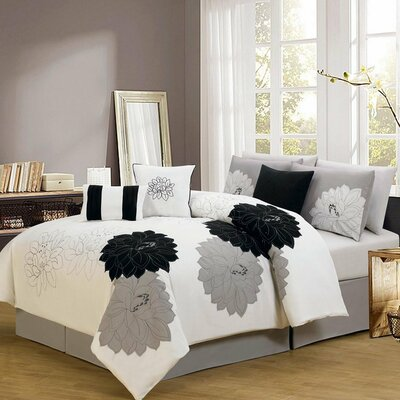 7 Piece Comforter Set by Madison Home USA