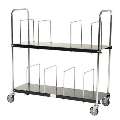 Two Tier Portable Carton Cart by Vestil