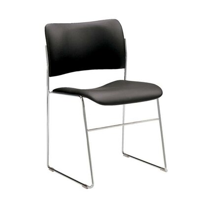 40/4 Armless Stacking Chair by Howe