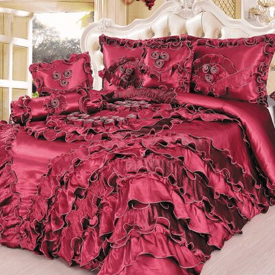 Passion 6 Piece King Comforter Set by Tache Home Fashion