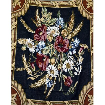 Floral Harvest Tapestry Throw Blanket by Tache Home Fashion