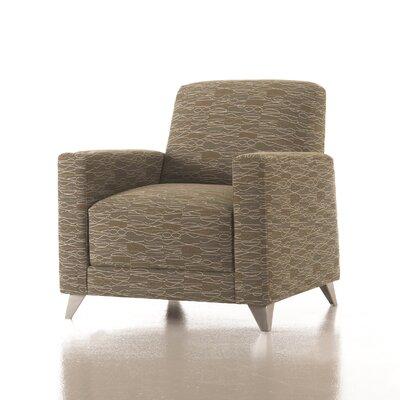 Zoe Lounge Chair in Grade 3 Vinyl by Studio Q Furniture