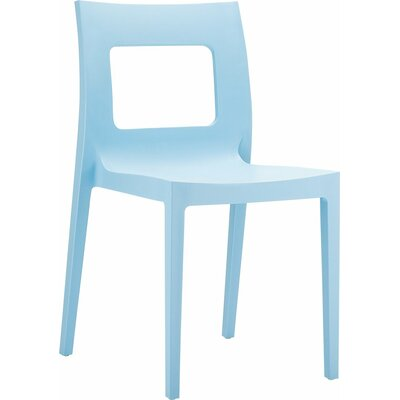 Lucca Armless Stacking Chair by Siesta Exclusive
