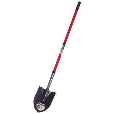 Ames Round Point True American™ Fiberglass Handle Shovel